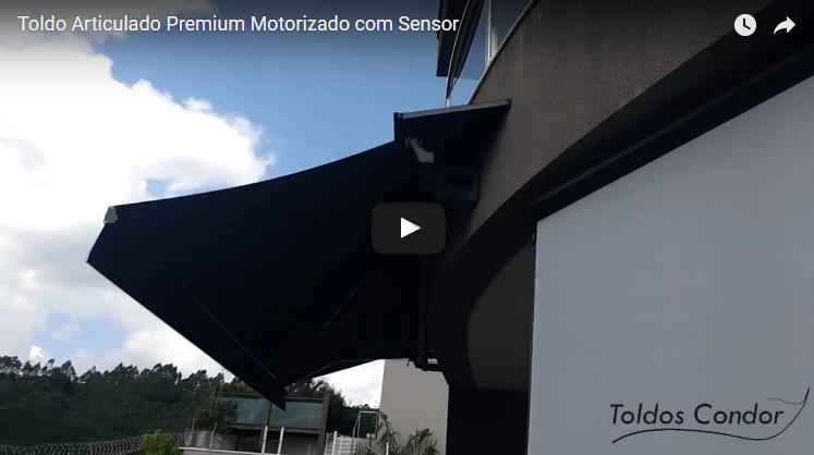toldo articulado condor premium motorizado