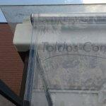 toldo cortinas transparentes