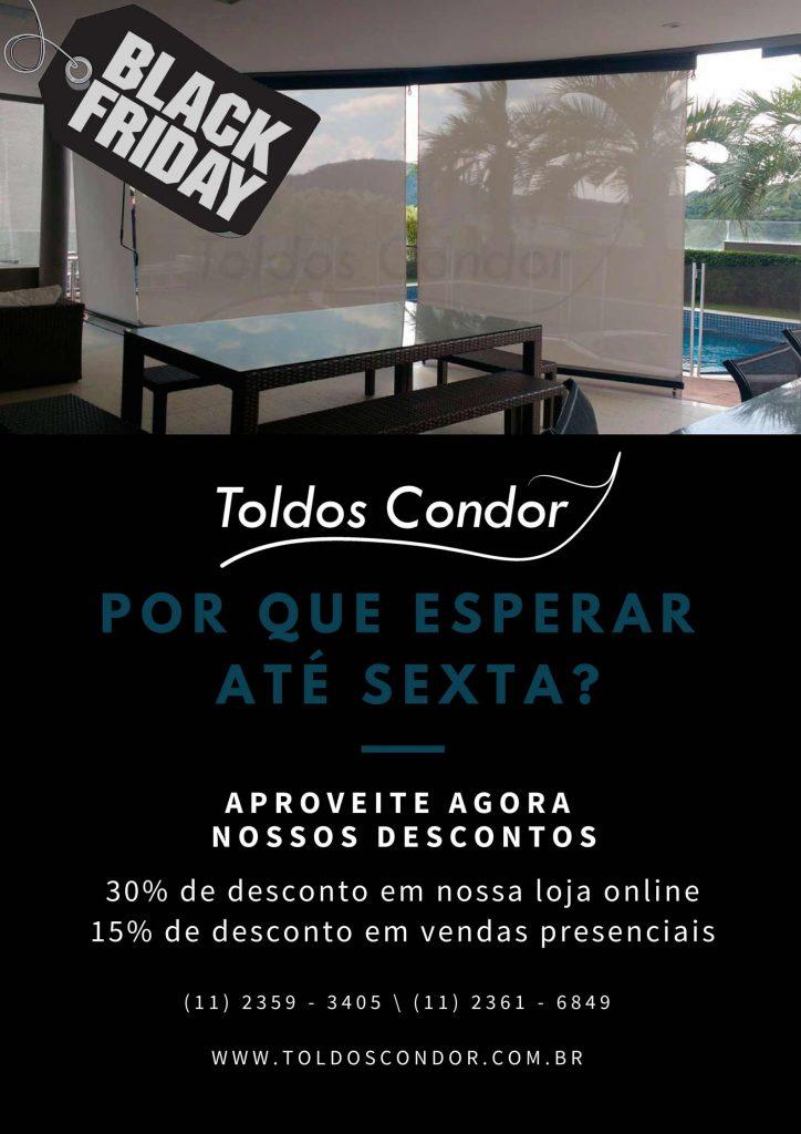 Black Friday - Toldos Condor