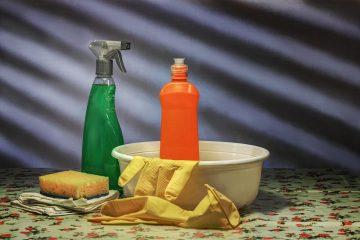 materiais para limpeza de toldo