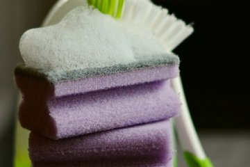 esponja para limpar seu toldo